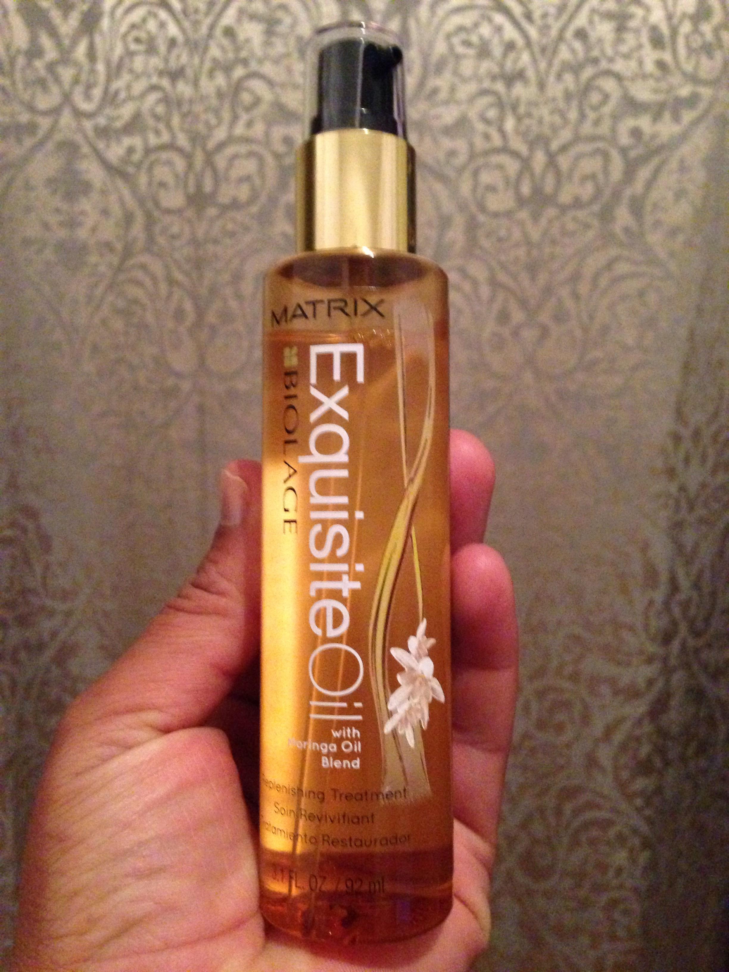 Review On Matrix Biolage Exquisite Oil Glammed Up Me Blog
